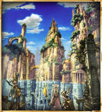 Image of the world of Iruna Online